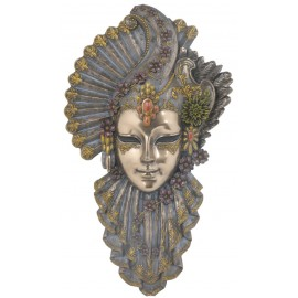 Maska wenecka kwiaty