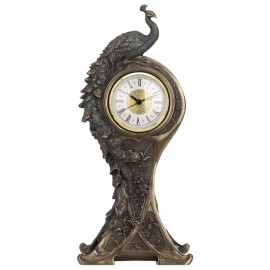 Zegar z pawiem