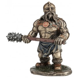 Viking with a club