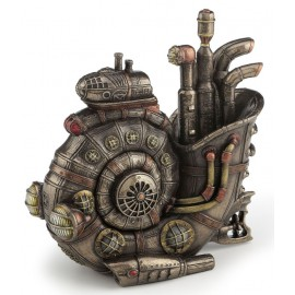 Steampunk submarine Nautilius trinket box