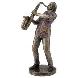 Jazz band saxophonist