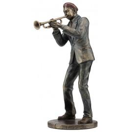 Jazz band trumpeter