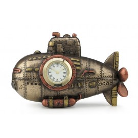 Steampunk submarine clock