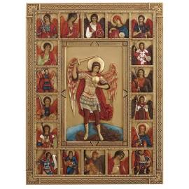 Ikona św. Michał kolor
