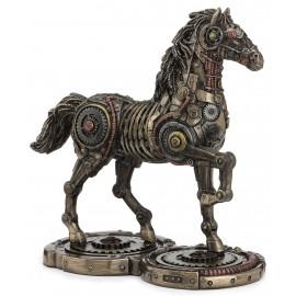 Steampunk mechaniczny koń