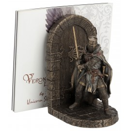 Bookend with knight