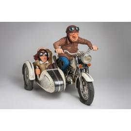 Motocykl z przyczepką