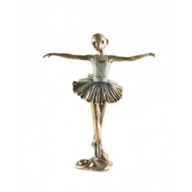 Ballerina with her hands to the side