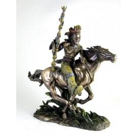 Indianin na koniu