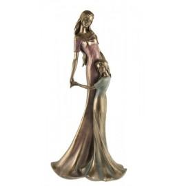 Statuetka kobieta z dzieckiem