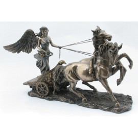 Chariot with the goddess Nike