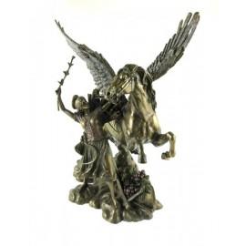 Kolekcja mitologiczna-kobieta z pegazem