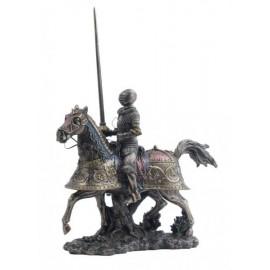 Rucerzna koniu z włócznią