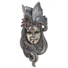 Maska wenecka - lilia