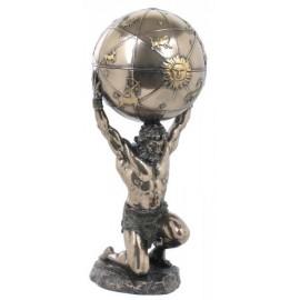 Atlas - otwierany glob