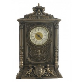 Baroque clock with cherubs