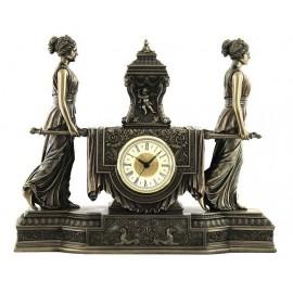 Barokowy zegar - lektyka