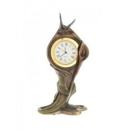 Secesyjny zegarek z motylem