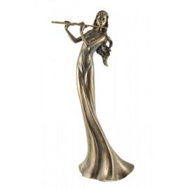 Statuetka kobieta grająca na flecie