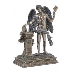 Świecznik grecki bóg
