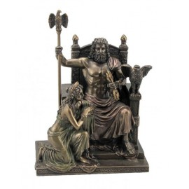 Zeus and Hera on a throne