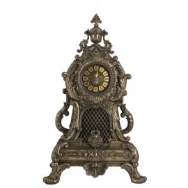 Baroque mantle clock large