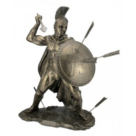Leonidas with a shield