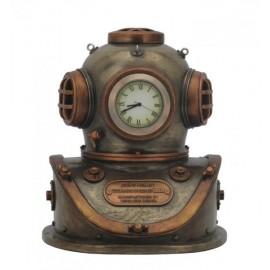 Hełm płetwonurka - zegarek Steampunk