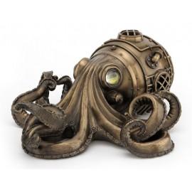 Ośmiornica - szkatuła Steampunk