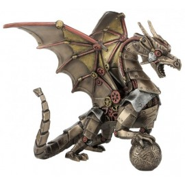 Mechanical dragon steampunk