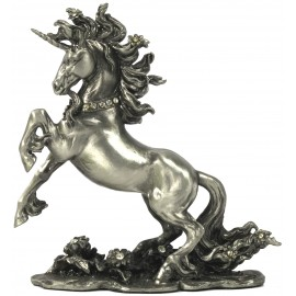 Pewter unicorn standing
