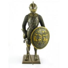 Rycerz z mieczem i tarczą