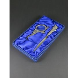 Zestaw - szkło powiększające, nożyk do listów