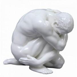 Porcelanowy akt męski