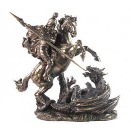 Św. Jerzy na koniu i smok
