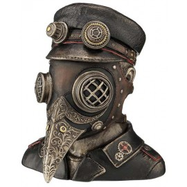 Steampunk - plague doctor trinket box