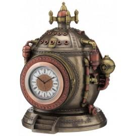 Steampunk - zegar maszyna czasu