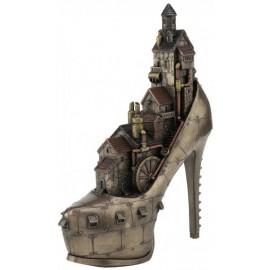 Steampunk - miasto w szpilce