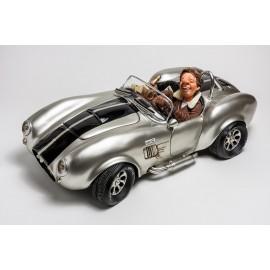 Shelby Cobra srebrny