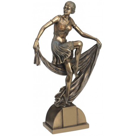 Kobieta Art Deco
